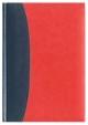 Kalendarz Bolonia granatowy/czerwony
