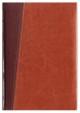 Kalendarz Milano ciemny brąz/brązowy