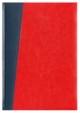 Kalendarz Milano granatowy/czerwony