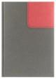 Kalendarz Oxford szary/czerwony