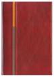 Kalendarz Porto bordowy/pomarańczowy/szary
