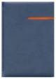 Kalendarz Vinci granatowy/pomarańczowy