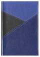 Kalendarz York czarny/niebieski/granatowy