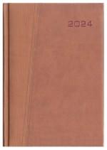 Kalendarz Ancona brązowy/brązowy