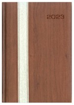 Kalendarz Berno brązowy/siwy