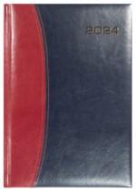Kalendarz Bolonia bordowy/granatowy
