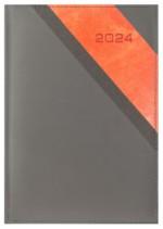 Kalendarz Calanda szary/pomarańczowy