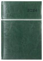 Kalendarz Kair zielony/srebrny