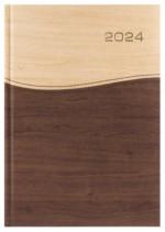 Kalendarz Kansas beżowy/brązowy