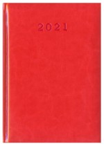 Kalendarz Nebraska czerwony