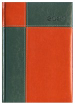 Kalendarz Panama zielony/czerwony