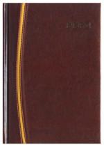 Kalendarz Parma ciemny brąz/złoty