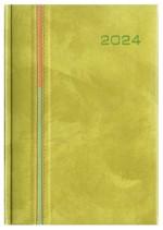 Kalendarz Porto seledynowy/pomarańczowy/seledynowy