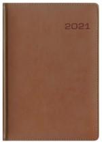 Kalendarz Skóra Exclusive brązowy