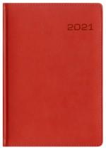 Kalendarz Skóra Exclusive czerwony