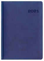 Kalendarz Skóra Exclusive niebieski