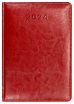 Kalendarz Skóra Powlekana czerwony