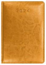 Kalendarz Skóra Powlekana żółty