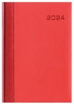 Kalendarz Tuluza czerwony/czerwony