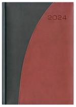 Kalendarz Verona czarny/bordowy