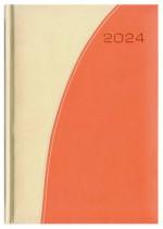 Kalendarz Verona kość słoniowa/pomarańczowy
