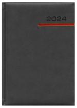 Kalendarz Vinci czarny/czerwony